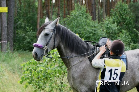 Ч1.Открытые соревнования по TREC в с.Бобрица 15.06.2014